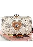 In Stock Marvelous Party Handbags/Clutches With Beadings
